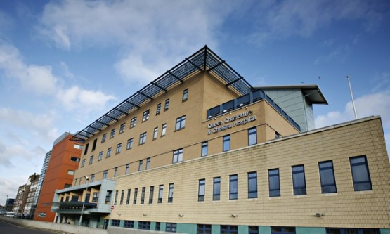Hammersmith hospital, where doctors performed the UK's first organ donation from a baby.